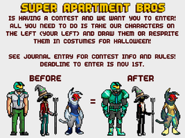 SAB Contest Rules Quick Version by SuperApartmentBros