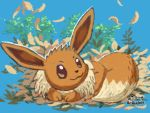 Freshly hatched Eevee by WhiteOrchid14
