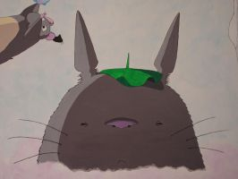 Totoro is pondering by rufy73