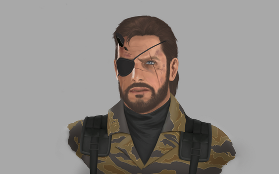 Big Boss - MGSV Phantom Pain by GreenishQ8