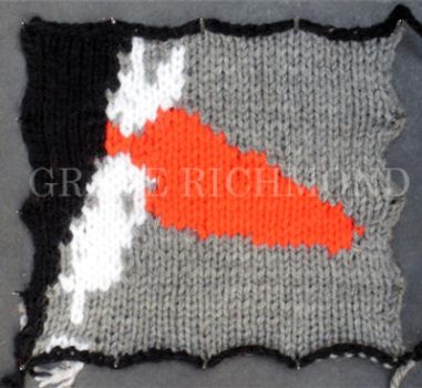 Knitted Animation - Lips by GRichmond