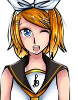 + Vocaloid + Rin Kagamine by SaitouOxens