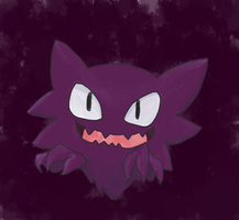 Haunter by foxopathic