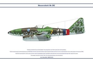 Me 262 JG7 5 by WS-Clave
