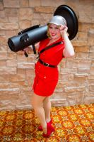 Pin Up Soldier- TF2 by ChikiCosplay