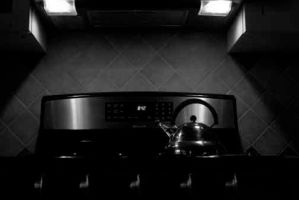 Kettle and Stove by astrangedream