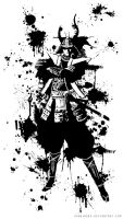 Commission T-Shirt. Samurai by KawaINDEX