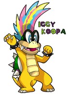 Iggy Koopa Old Appearence by Tails19950