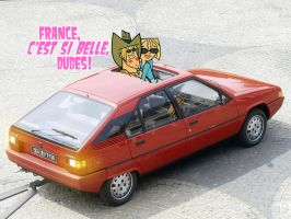 Seeing France in a Citroen BX16 by daanton