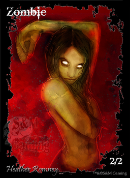 Official Zombie Token Four by SandM-Gaming