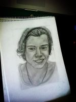 Harry styles - One direction Drawing. by teken-lovers