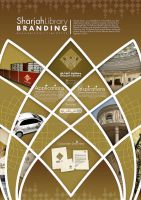 Sharjah Library Brand Poster by PUReeYEZ