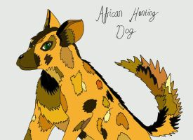 African Hunting Dog - Manak by DrentaiWolf