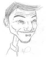 Stephen Caricature by theonejanitor