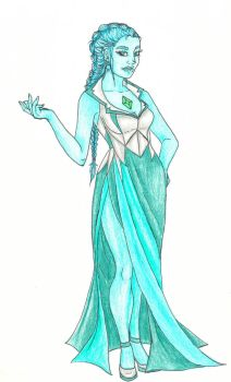 Turquoise Diamond contest entry by mylovelyghost