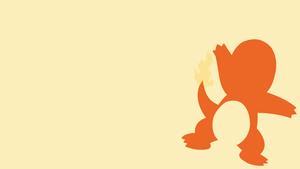 Charmander (Pokemon) - Minimalist by SykotixUK
