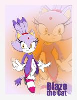 Blaze the Cat by anthey925