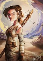 Rey - Star Wars by ArianeTorelli