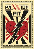 Passion Pit Concert Poster by jasonserres