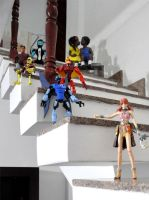 Dolls in the stairs by TeeheeXD