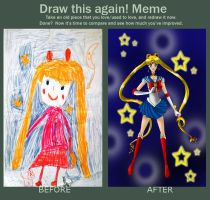 Before After Sailor Moon by Moonlightkittypaw