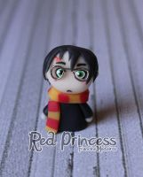 Harry potter puppet by theredprincess