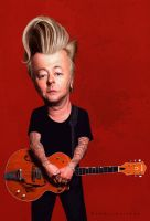 Brian Setzer by markdraws