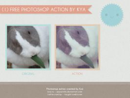 Photoshop Action #3: Soft Blue by apparate