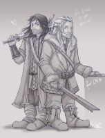 Fili and Kili for LN by ukialek