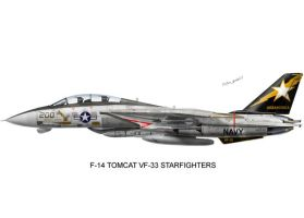 F-14 VF-33 Starfighters by peter-pan03