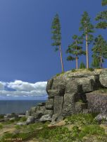 And on stones trees grow... by slepalex