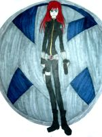 SHIELD: Black Widow by InkArtWriter