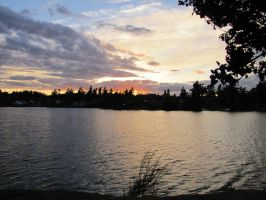 Victoria BC Sunset by Cam-s-creations