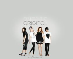 2NE1 WP - Original by hanan-chan