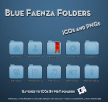 Blue Faenza Folders by Mr-Ragnarok