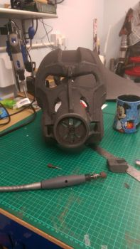 Fallout 4 T60 Power Armour Helmet WIP by KnoxyMcKnox