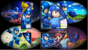 Ready to Smash: Mega Man by Kirby-Kid