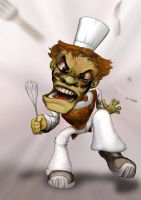Pastry Chef Down by eorthorexic