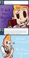 :: Ask Tintin: Valentine's Day Set 1 :: by Tigerman-exe