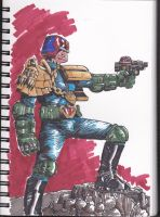 Judge Dredd by theexodus97