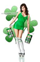 Hot woman - Cold Beer by StuckpixelPhoto