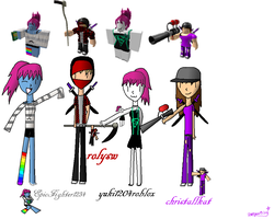 EpicFighter1234 and Friends (ROBLOX) by Hikari-The-Elite