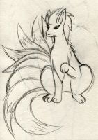 Kate The Ninetails No.2 by Zander-The-Artist