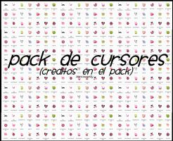 Pack de Cursores by BiancaWeasly