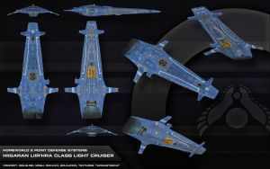 PDS Light Cruiser by thomasthecat