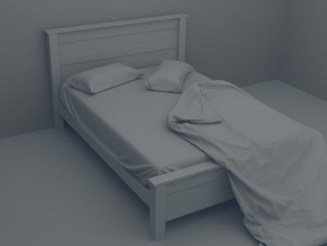 Bed 01 by Sedrann