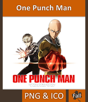 One Punch Man - Anime Icon by Rizmannf