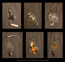 Creature Charm Gift Batch by MoonsongWolf