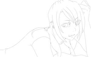 preview Katherine Lineart by TRANCE--fusion