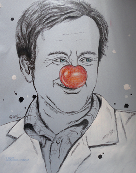 A tribute to Robin williams by DiptiArt